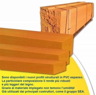 Profili in PVC espanso
