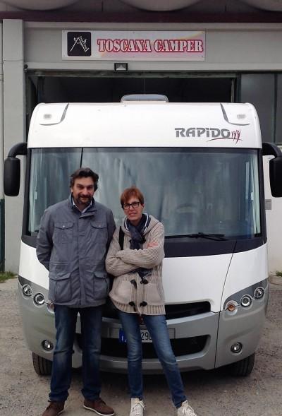 consegna Rapidò 8090 DF Sig.Mazzotti
