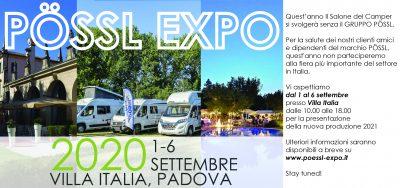EVENTO POSSL ISCRIVITI http://www.poessl-expo.it
